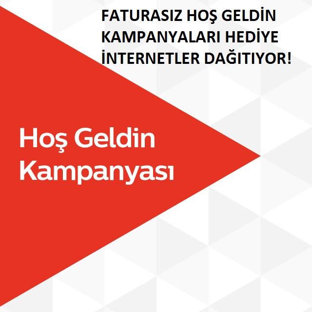 Türk Telekom hoş geldin kampanyası
