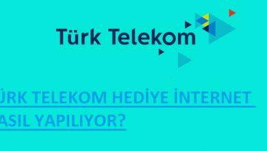 Türk Telekom internet hediye