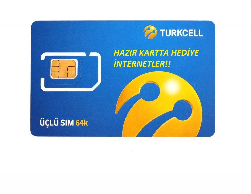 Turkcell hazır kart hediye internet