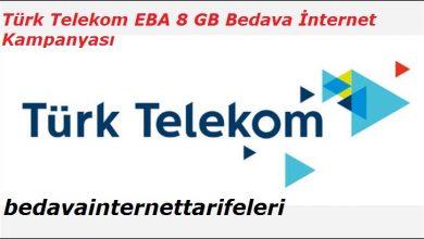 Türk Telekom EBA 8 GB İnternet