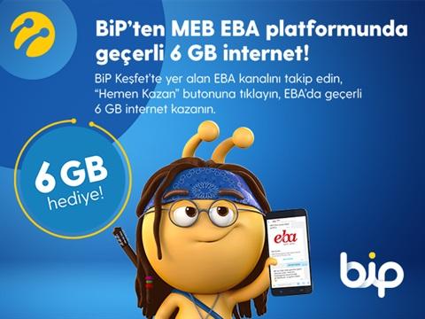 Turkcell EBA 3 GB Hediye İnternet Kampanyası