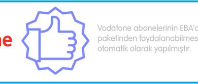 Vodafone eba 3 gb bedava internet