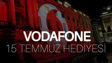 Vodafone 15 Temmuz Hediyesi